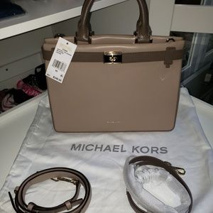 NEW Michael Kors Tatiana Satchel